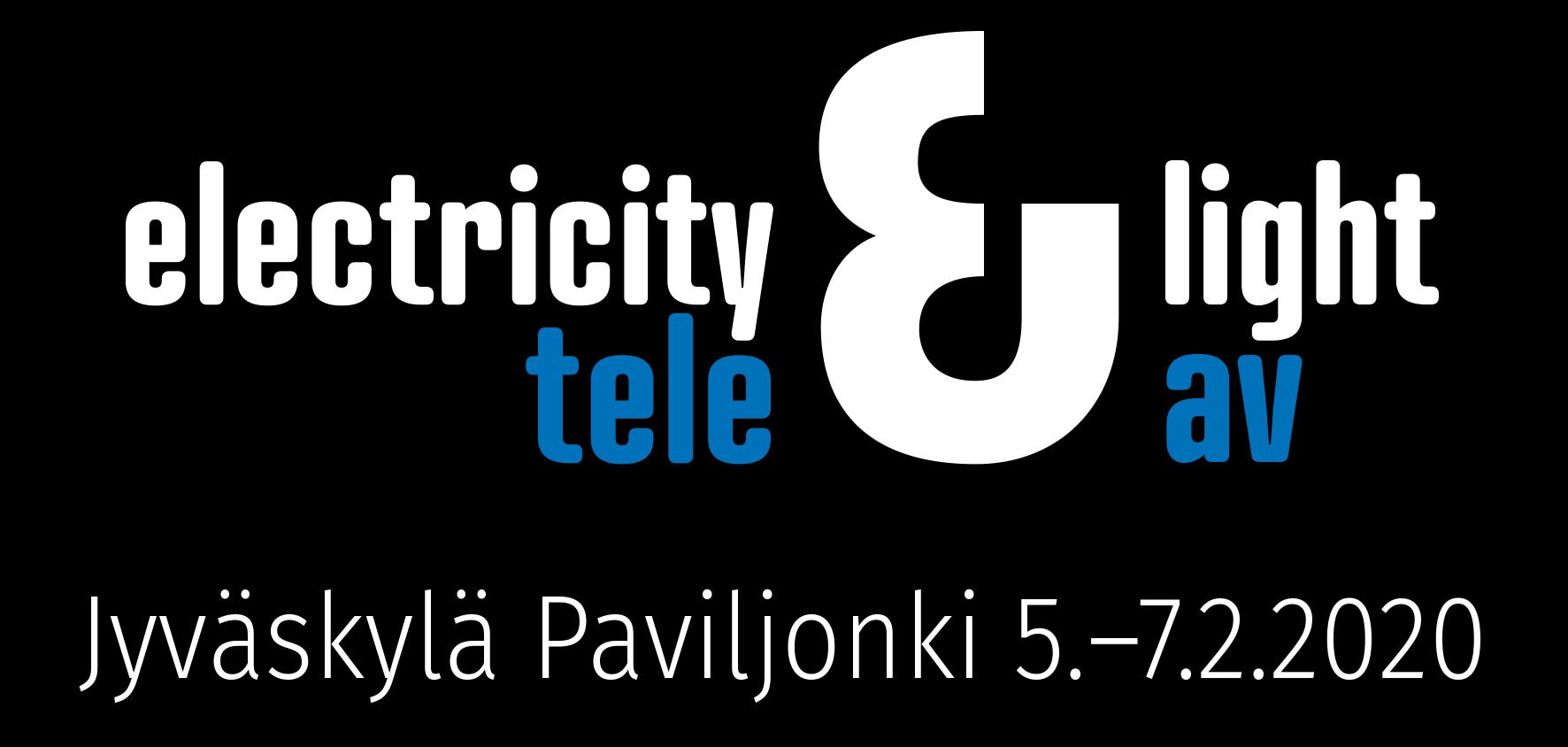 Sähkö Valo Tele AV Exhibition Logo