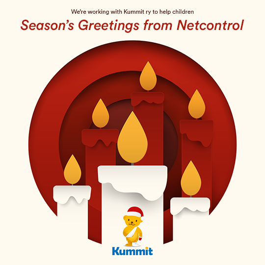 Netcontrol and Kummit ry Holiday Card 2020